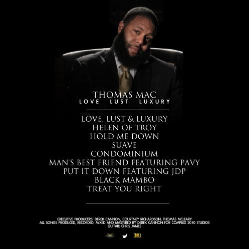 tmac love lust luxury tracklist